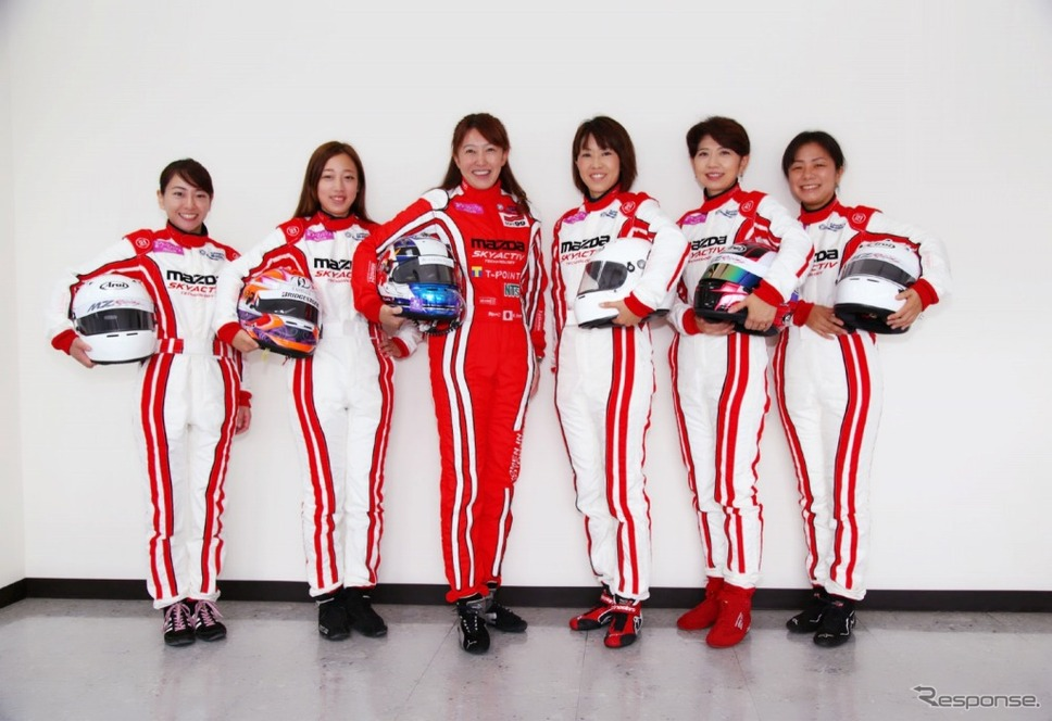 マツダ×井原慶子、モータースポーツでの活躍を目指す女性を募集