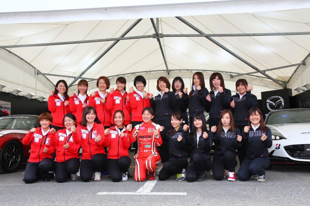 二期目のマツダWomen in Motorsportプロジェクト始動