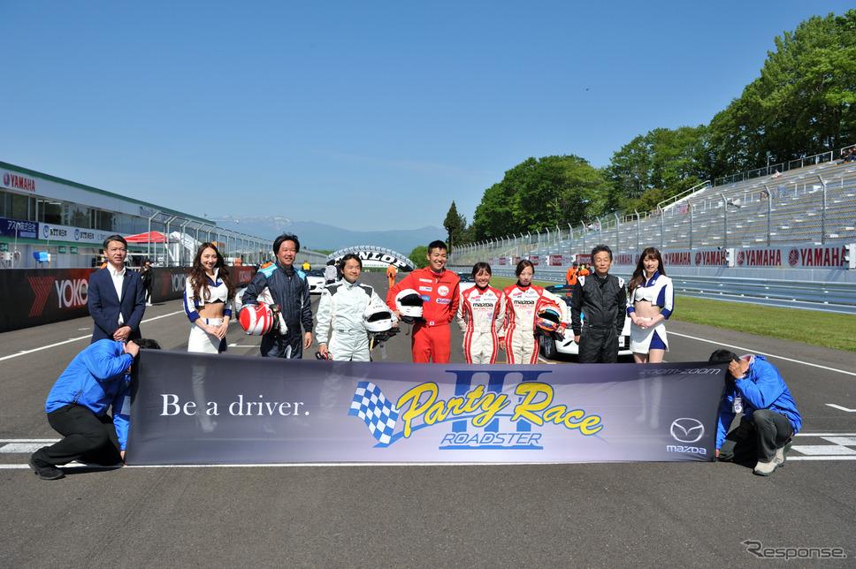 マツダ女性ドライバー、ロガーでデータ解析し表彰台を獲得…ロードスター・パーティーレースIII