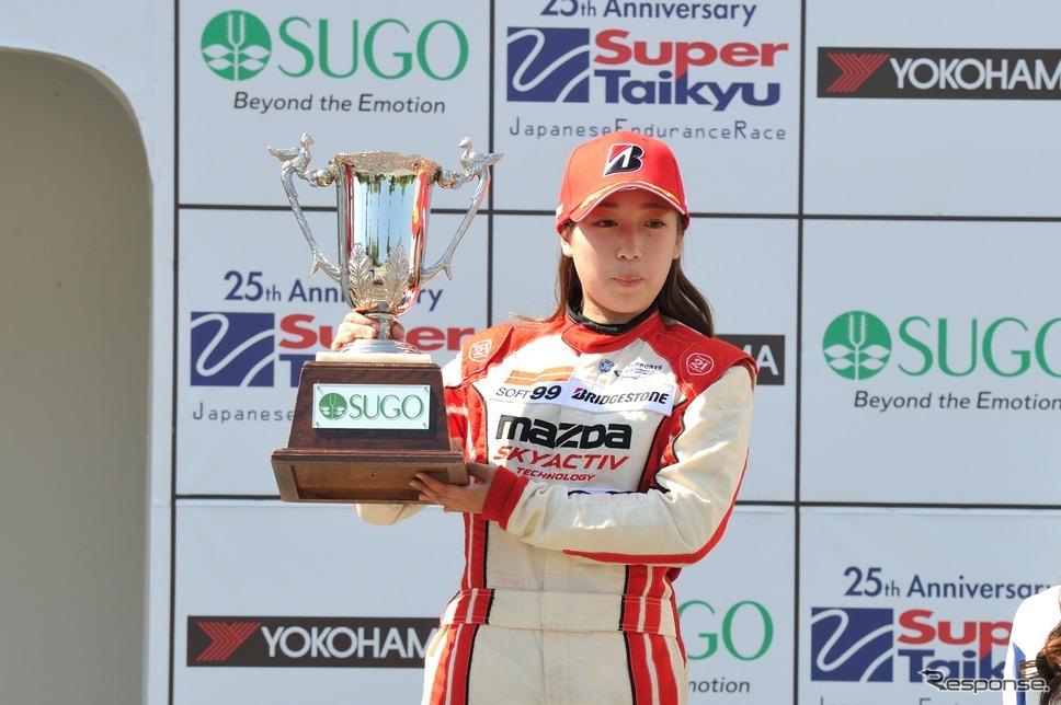 マツダ女性レーサー育成プロジェクト、1期生が連続表彰台を獲得