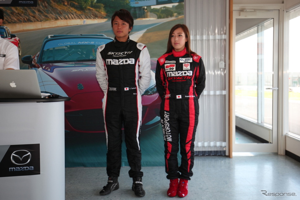 「目標は優勝」堤優威がグローバルMX-5カップの日本代表として参戦