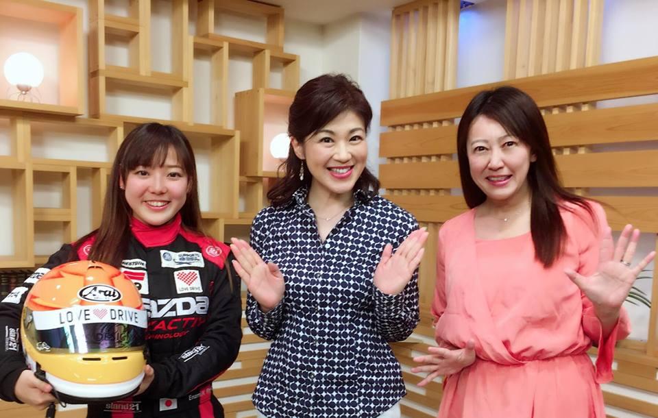 井原慶子選手と岩岡万梨恵選手が、三重テレビ夕方の情報番組「とってもワクドキ!」に生出演しました。