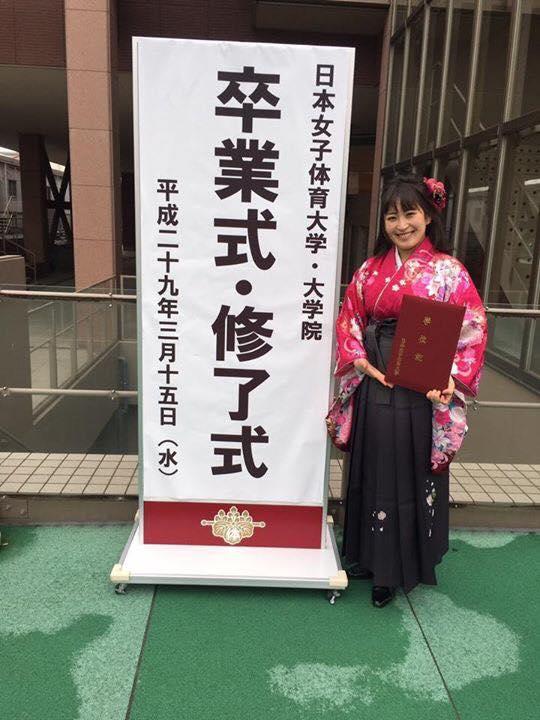 猪爪杏奈が日本女子体育大学を卒業。オリンピック選手と共に活躍したアスリートとして掲載されました。